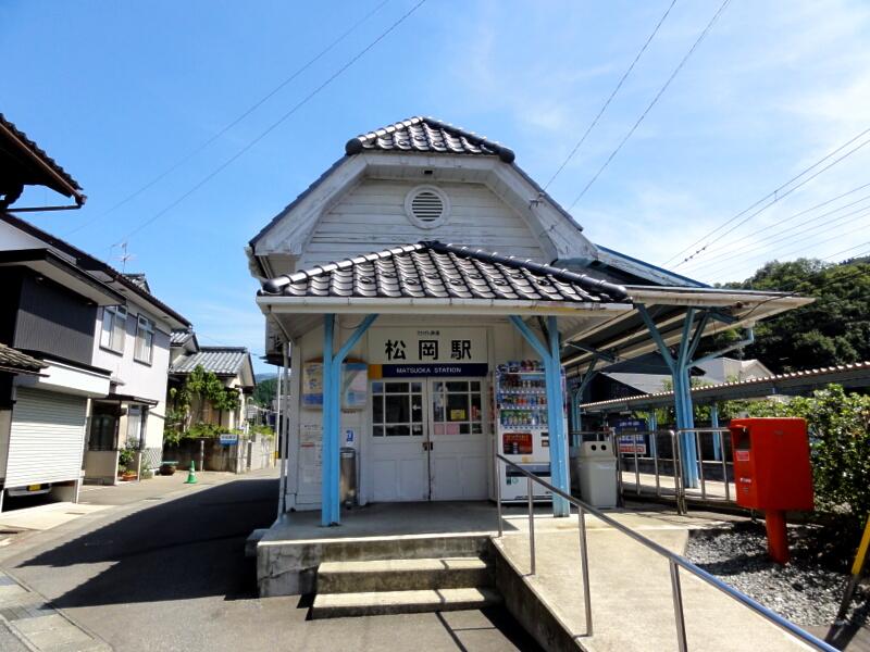 駅旅-えちぜん鉄道 勝山永平寺線 松岡駅